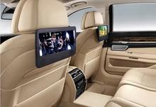 "Automotive DVD 7.eight"" Automotive Pillow DVD Participant Twin Headrest Full HD TFT Display Disc USB New"