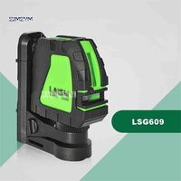 LSG609 Green Light 2 Line Level Meter High Brightness And High Precision Automatic Anping Level Green Laser Marking Device 532nm