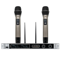 X-2700 4-channel professional wireless microphone VHF professional handheld wireless lapel microphone headset microphone