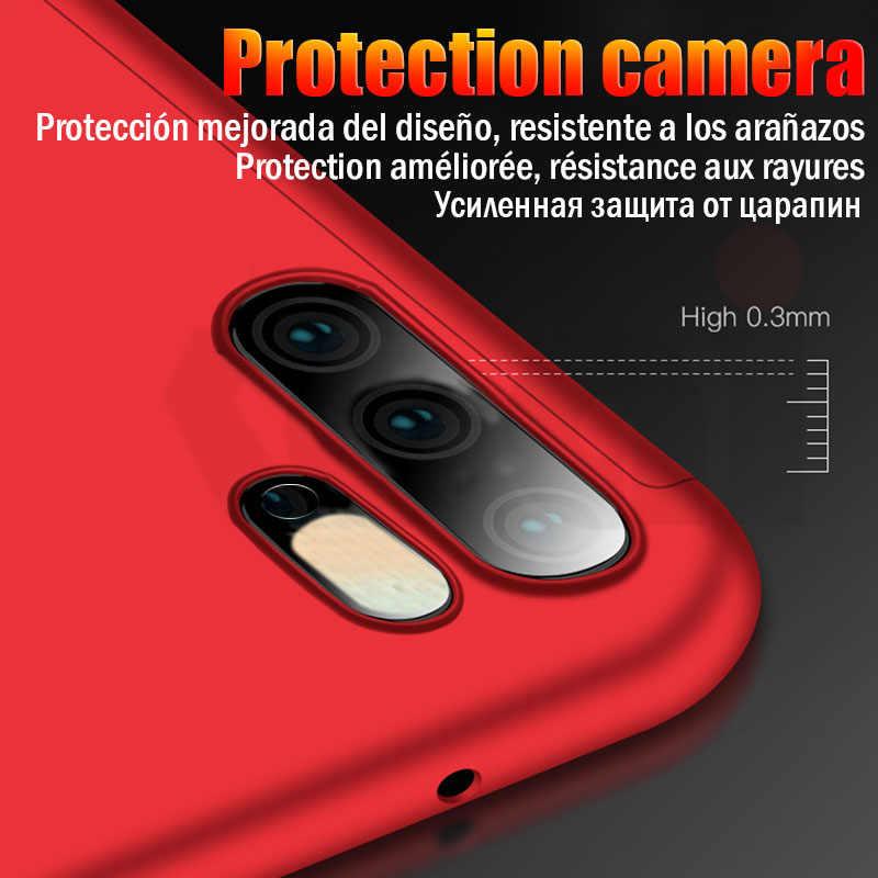 360 cubierta a prueba de golpes caso de Huawei P30 Pro P20 lite amigo 20 10 lite Nova 3 3i P Smart 2019 para honor 20 9 10 7A 8X caso