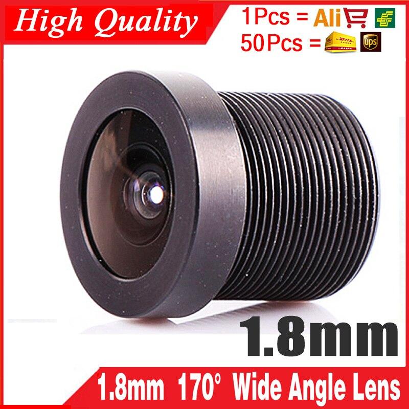 1.8mm MTV LENS 170 Graus Wide Angle CCTV Conselho IR Camera Placa De Montagem Da Lente HD Effect Metal Monitor Product Chip Eyes