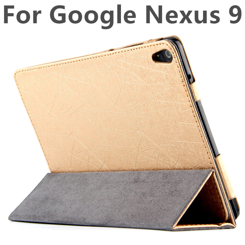 Case For Google Nexus 9 Cases Smart Cover For Nexus9 leather Protective Protector PU Tablet by HTC Covers 8.9 inch N9 Sleeve ultrathin protective pu leather case w auto sleep for google nexus 7 ii blue