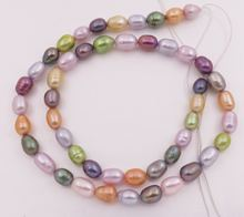 Смешанная цветная слеза жемчужные бусины для изготовления ювелирных