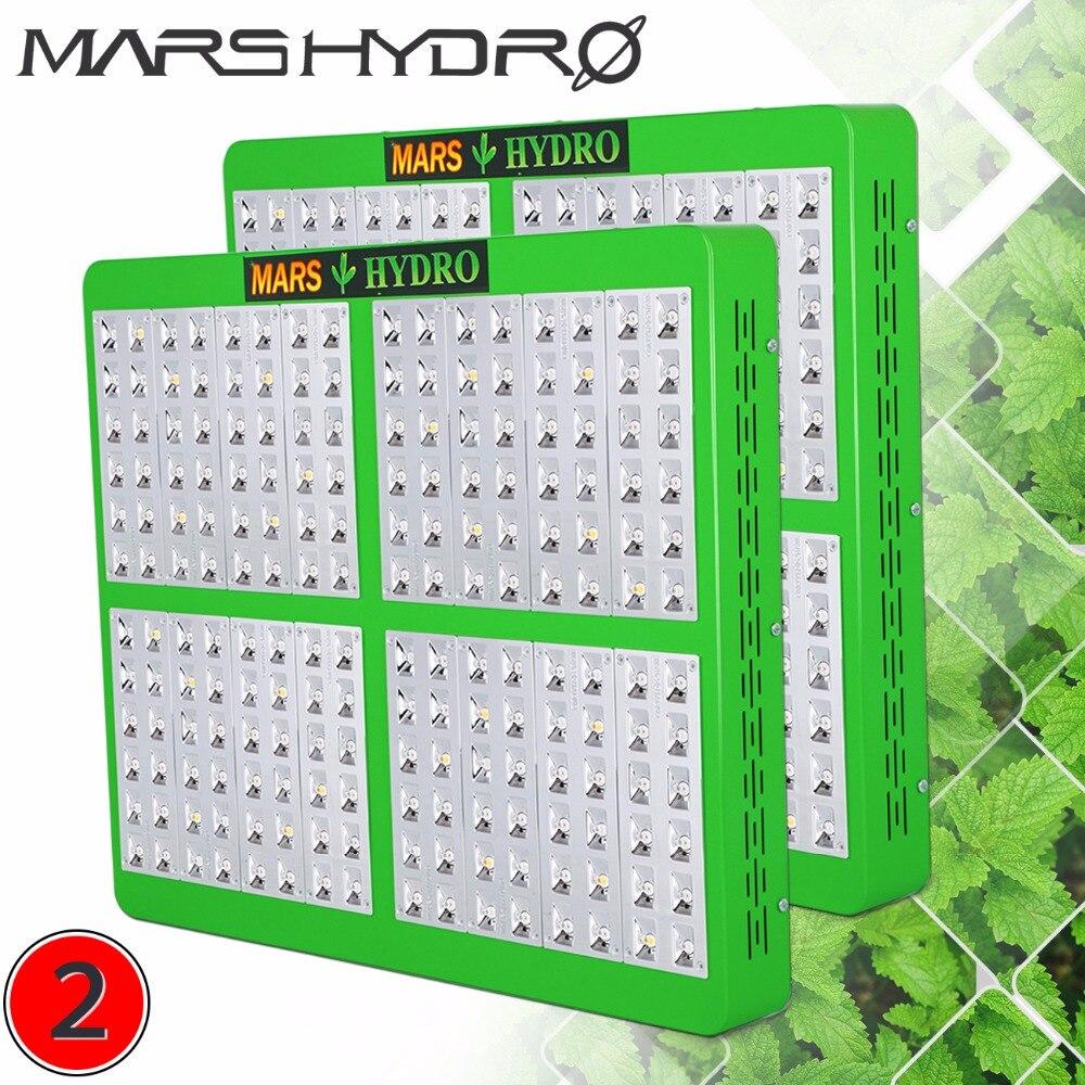 2PCS Mars Hydro Reflector 960W LED Full Spectrum Grow Light,Hydroponic Grow Light for Indoor Garden abbyy lingvo x6 многоязычная домашняя версия цифровая версия