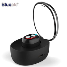 Wholesale Blueple In Ear Bluetooth Earphone BT4.1 Headset Magnetic Charging Wireless Earphone Driving Eonfine Handsfree air pods