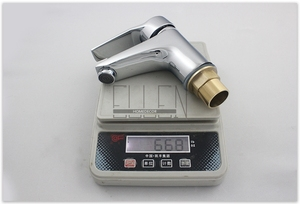 Image 4 - Sıcak ve Soğuk musluk bataryası Banyo Havzası lavabo musluğu Krom Bakır Su musluk bataryası Tek Kolu Banyo Armatürleri FY103