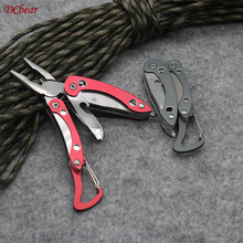 DCbear Mini Stainless Steel Outdoor Portable Multitool Pliers Knife Keychain Screwdriver Multi Tools EDC Tool Emergency Tool цены онлайн