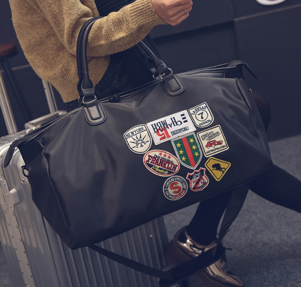 Large Capacity Portable Travel Bags Men And Women Luggage New Designers Duffle Shoulder Casual Cute In From