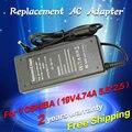 19 v 4.74a 90 w adaptador de corriente ac cargador del ordenador portátil para toshiba satellite A300 A200 A100 C850 L850 L850D L855 L650 L750 L500 M300