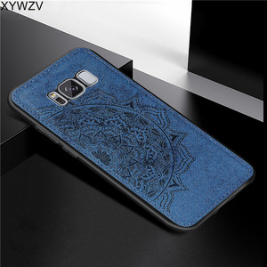 Image 3 - For Samsung Galaxy S8 Plus Case Luxury Soft Silicone Luxury Cloth Texture Hard PC Phone Case For Samsung Galaxy S8 Plus Cover