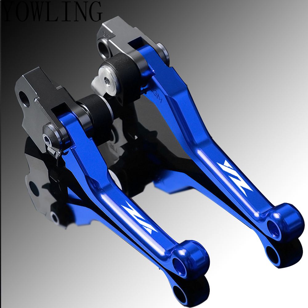 Pivot Foldable Handbrake Handle Brakes Clutch Levers For YAMAHA YZ85 YZ125 YZ250 YZ250F YZ450F YZ426F 2015 2016 2017 2018 2019 in Levers Ropes Cables from Automobiles Motorcycles