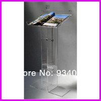 Acrylic Church Podiums, Acrylic Pulpit Furniture, Acrylic Rostrum, Plexiglass Dais