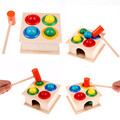 Hammering Wooden Ball Hammer Game Children Early Learning Educational Toy NEW