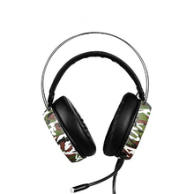 цена на Smart game headphone wire control HD MIC camouflage color 3D stereo surround sound noise cancelling professional E-sport headset