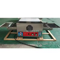 12 inch Chain Type Commercial Electric Professional Conveyor Pizza Oven Baking Making Pizza Egg Tart Oven Machine 220V 6.7KW