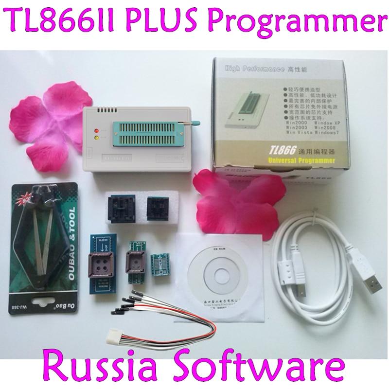 HOT SALE] Newest V7 03 TL866II Plus USB programmer 1 8V nand