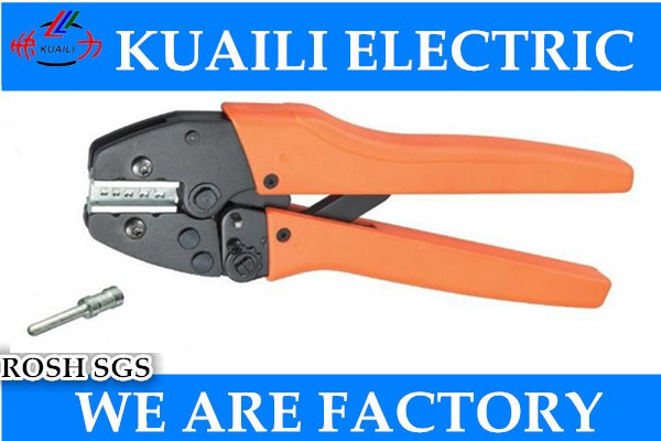 1PCS VH5-05D New Generation of Energy Saving Crimping Pliers For Turned Contacts (Harting) 25-11AWG 0.14-4mm2  цены