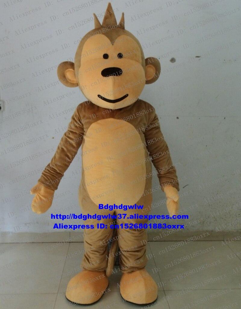 Mascot Helpful Visual Orange Long Fur Orangutan Gorilla Chimpanzee Ape Simian Monkey Mascot Costume Cartoon Character Pinch White Hair Zz797 Fs Products Hot Sale