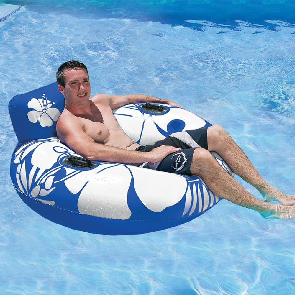 Genial Adult Swimming Ring Swimming Seat Chair Inflatable Swimming Float Pool  Floats Inflatable Donut Swim Ring Water Sports Toy In Swimming Rings From  Sports ...