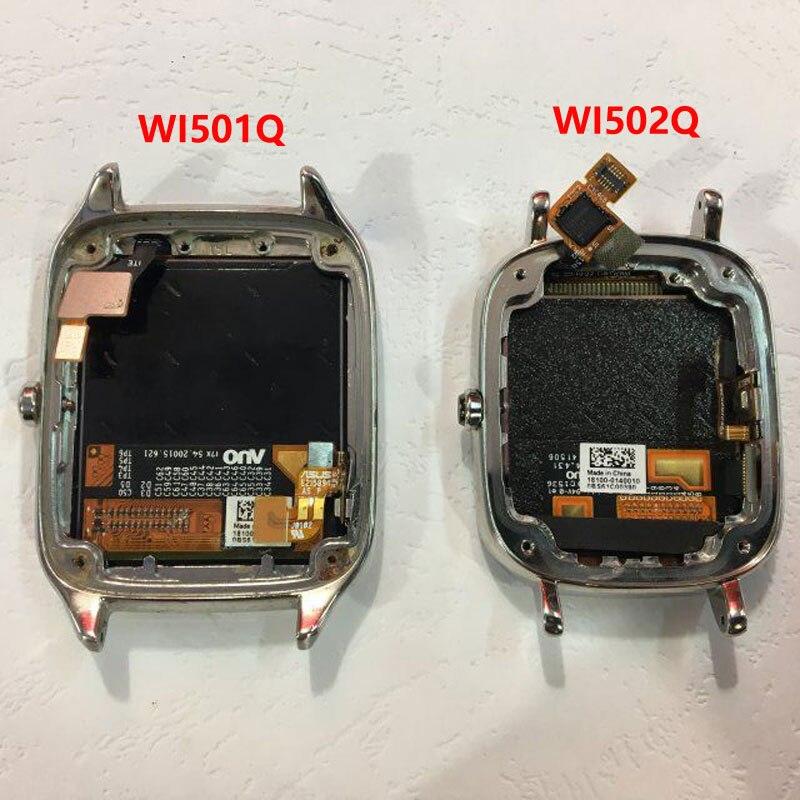 ZUCZUG Nuovo Sensitive Display LCD In Cornice Per Asus Zenwatch 2 WI501Q/WI502QZUCZUG Nuovo Sensitive Display LCD In Cornice Per Asus Zenwatch 2 WI501Q/WI502Q