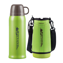 Pinkah termos 730ml ücretsiz çanta ile 304 paslanmaz çelik termos kupa şişe kupa su vakum bardak açık spor seyahat kahve fincanı