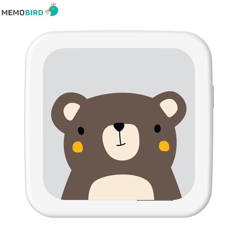 MEMOBIRD GT1 NEW Portable Bluetooth 4.2 Printer Phone Photo Pocket Sticker Bill Thermal Printer USB Micro Connector