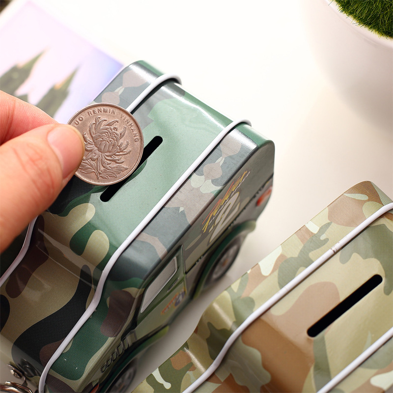 Κουτί νομισμάτων για χρήματα Ζεστό - Διακόσμηση σπιτιού - Φωτογραφία 3