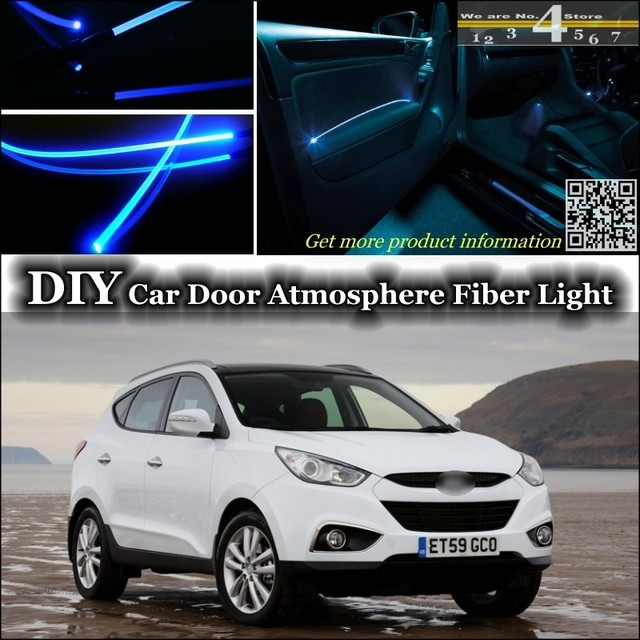 for hyundai ix35 interior ambient light tuning atmosphere. Black Bedroom Furniture Sets. Home Design Ideas
