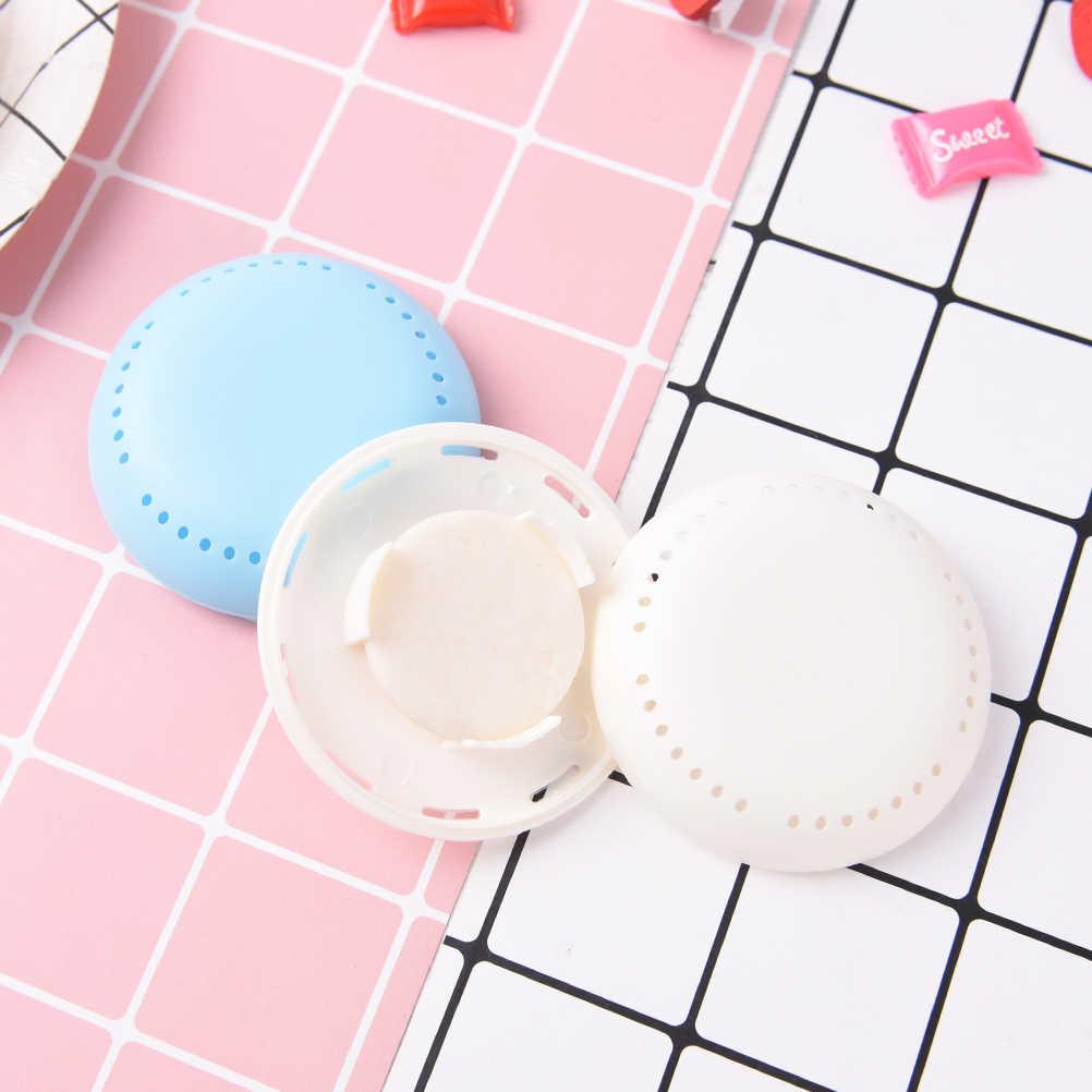 Typ dysku moda kryty odświeżacz powietrza przyssawka szafa uchwyt do szuflady dezodorant toaletowy jednolity zapach cukierki kolor 1pc