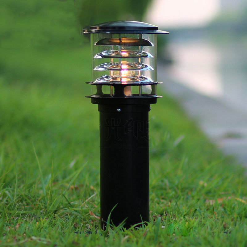 Garden lawn lamp outdoor strawhat road lights courtyard lighting street residential corridor fence yard lights 12storeez платье рубашка на поясе изо льна темно коричневое