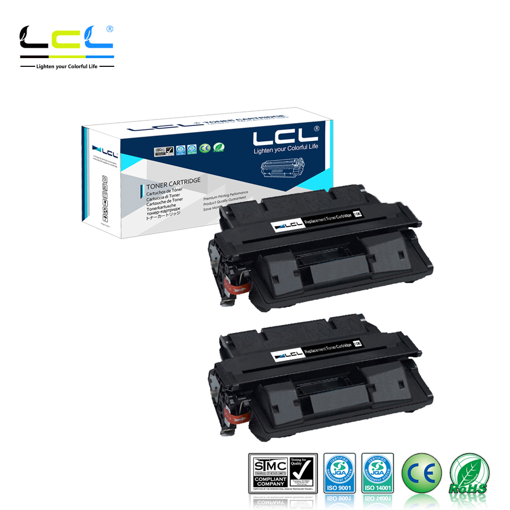 2pk C4127X 27X Laser Toner Cartridge Use For HP Laserjet