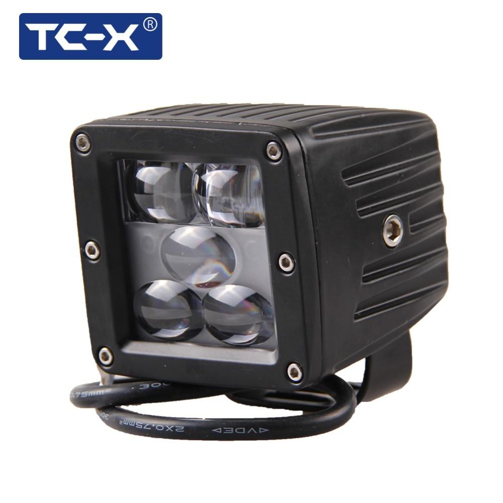 TC-X 5D 25W LED <font><b>Fog</b></font> <font><b>Light</b></font> 12V Off Road Tractor Truck 24V trucks <font><b>light</b></font> Engineering Led Driving <font><b>Lights</b></font> Work Lamps Foglights