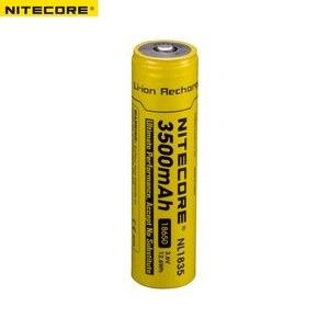 Image 3 - Nitecore NL1835 18650 3500mAh (nl1834의 새 버전) 3.6V 12.6Wh 충전식 리튬 배터리 보호 기능이있는 고품질