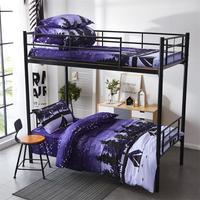 Новинка, 6 шт., Комплект постельного белья, Студенческая кровать, простыня, пуховая подушка, детская комната, семейный диван подкладка для на