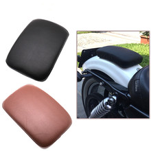 купить Motorcycle Rear Passenger Seat Pad Cushion 8/6 Suction Cup For Harley Sportster XL883 XL1200 X48 X72 Cruiser Chopper Custom по цене 1003.02 рублей