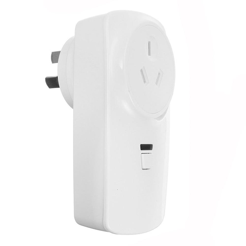 цена Wifi Smart AU Plug Power Socket Outlet APP For Amazon ECHO ALEXA GOOGLE HOME 10A(AU PLUG)