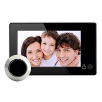 4.3 inch 145 Degree LCD Digital Peephole Door Viewer Door Eye Camera Video Digital Security Monitoring for Door Peephole