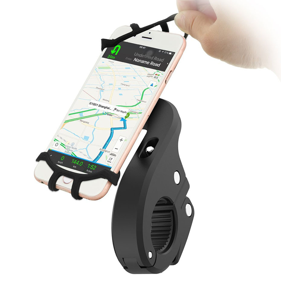 360 Degree Rotation Bicycle Phone Holder For Iphone X Iphone 8 Smartphone  Bike Handlebar Mount Bracket  Navigation Stand Holder (1)