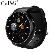 Colmi Smart i1 Оперативная память 2 ГБ + Встроенная память 16 ГБ Android 5.1 3 г WI-FI GPS Google Play сердечного ритма мониторы подключения Android IOS телефон смарт часы