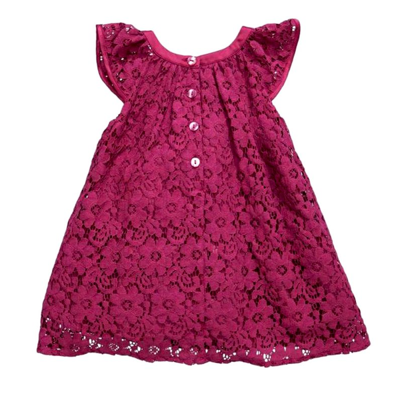Newest Baby Kids Girls Lace Princess Lovely Short Tulle Party Dress 2-7Years