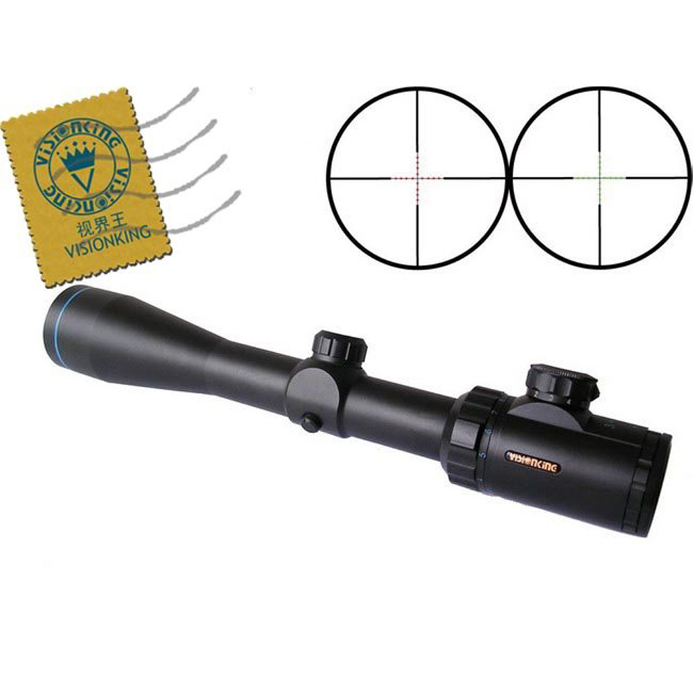 Visionking Opitcs 3-9x42  Rifle Scope Mil Dot Tactical Hunting Long Eye Relief Military Sight 30mm For AR15 M16 M4 Riflescopes