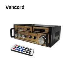 Мини-автомобиль Мощность звук Усилитель MP3 радио аудио стерео бас Динамик усилитель плеер для автомобиля домой с Мощность plug AMP Teli004