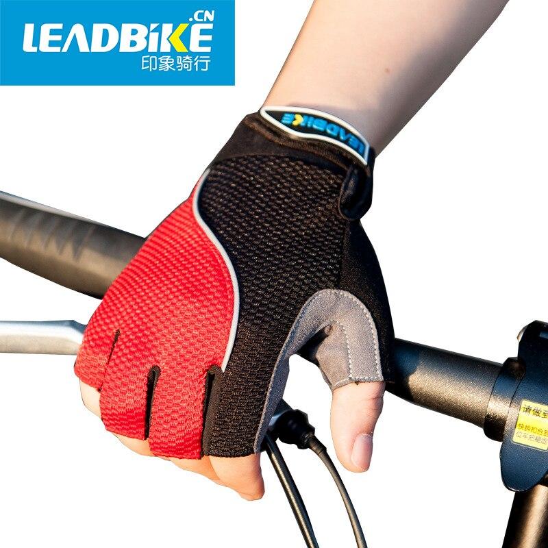 ᗜ LjഃLeadbike luz Ciclismo guantes Bicicletas guantes hexágono 3D ...