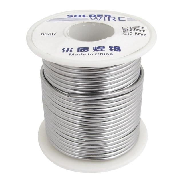 2mm Diameter 63/37 Tin Lead Roll Alloy Weld Solder Wire Spool Reel ...
