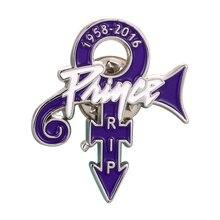 Príncipe símbolo de amor púrpura lluvia solapa Pin insignia