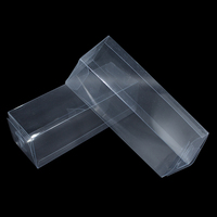 Wholesale Square Clear PVC Gift Box Jewelry Chocolate Candy Boxes Packing Wedding Party Supply Plush Toy