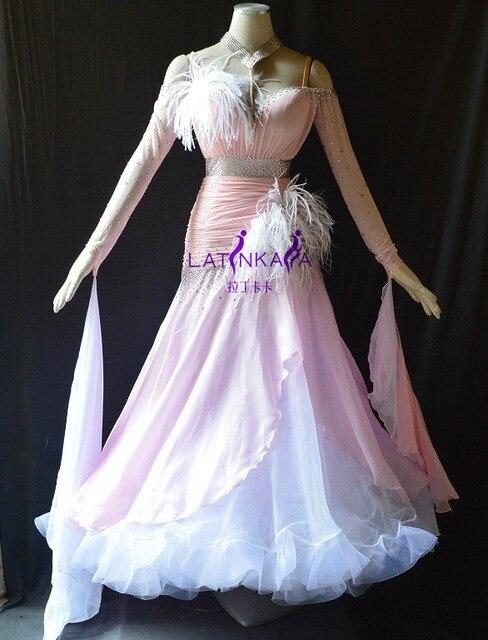 Горячая! KAKA ТАНЕЦ B1561, Новый Бальные Стандартный Танца Dress, Вальс Бальные Конкурс Dress, Бальные Танцы Конкуренции платья