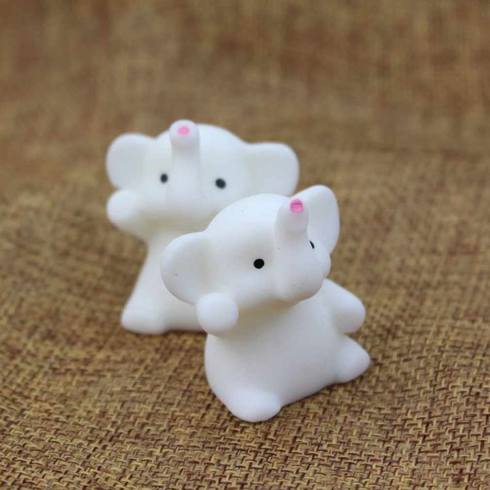 Novelty Cute Adorable Elephant Mochi Squishy Squeeze Toy Fashion Casual Healing Toys Fun Kids Stress Reliever Toy