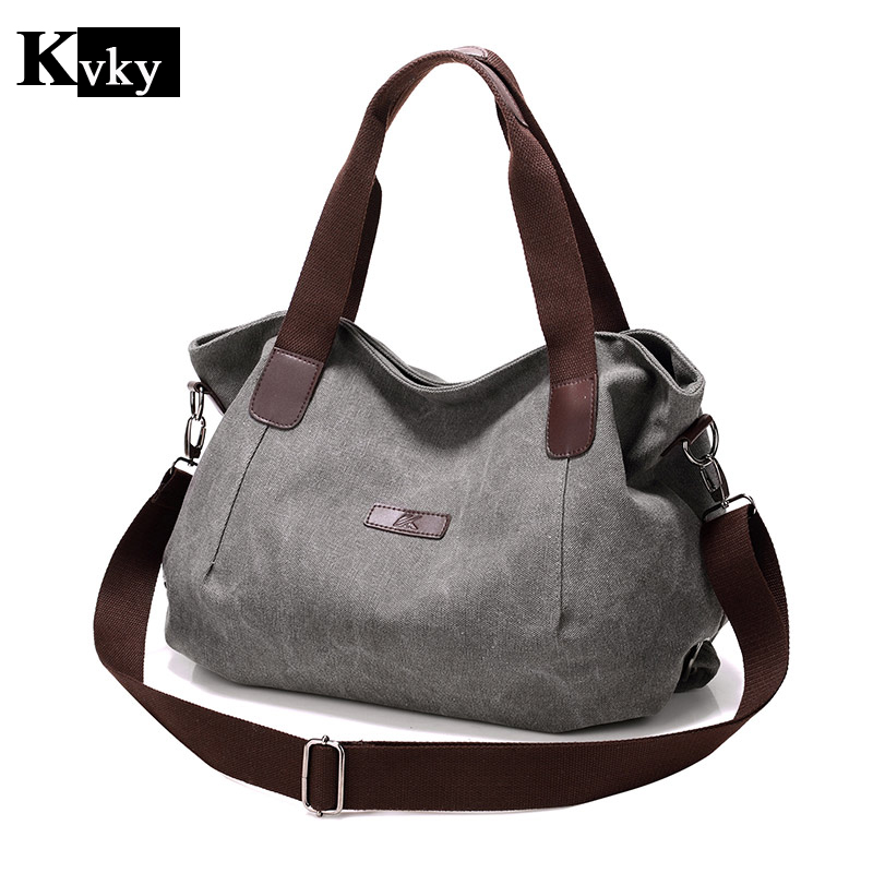 Women's Handbag Girl Tote Bag Canvas Shoulder Bag Large Leisure Bag