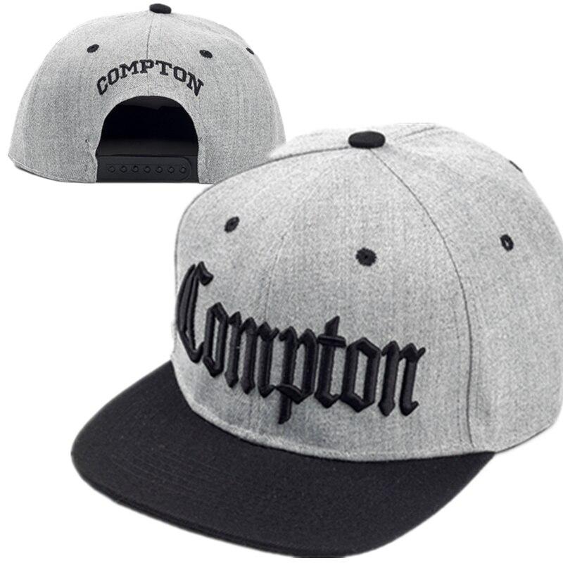 2017 Mode Compton Baseballmützen Justierbare Strand West Gangsta Stadt Crip Eazy Und Skateboard Gorras Planas Hip Hop Snapback Auf Der Ganzen Welt Verteilt Werden